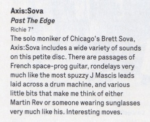 Axis-Sova Wire Oct 2013